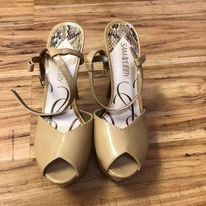 Sam & Libby nude heels 8